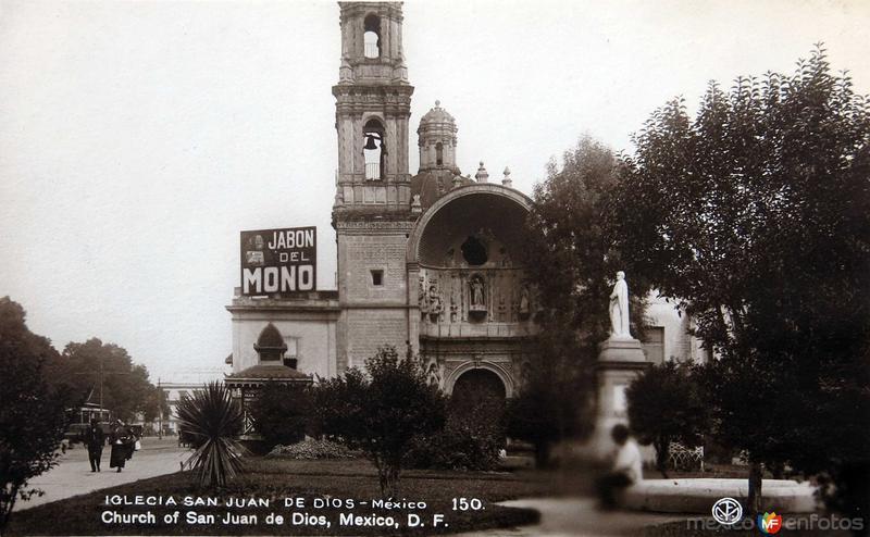 Iglesia de San Juan de Dios Hacia 1930