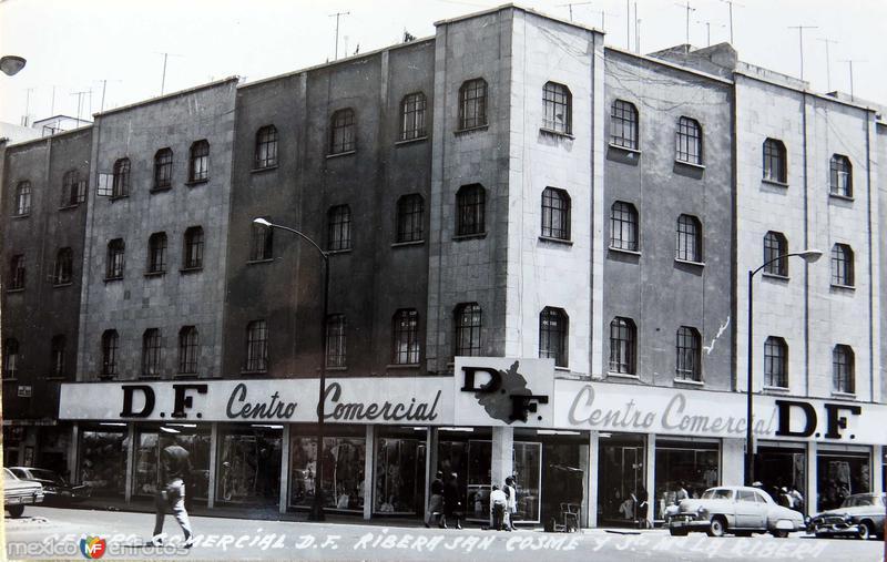Centro comercial Ribera de San Cosme Hacia 1945