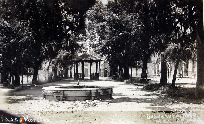 Paseo Morelos Guadalupe Hidalgo Hacia 1900
