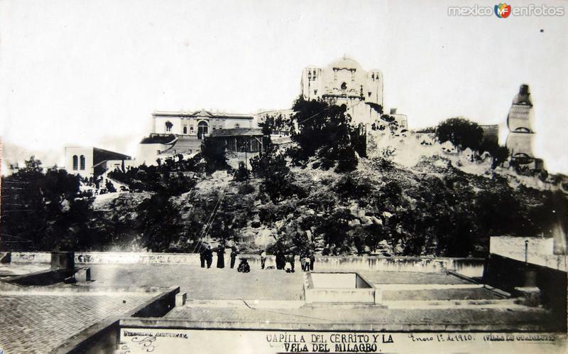 Basilica de Guadalupe la VELA DEL MILAGRO Hacia 1910