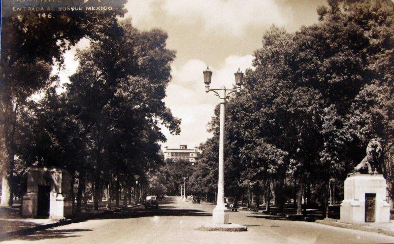 Castillo de Chapultepec Hacia 1930