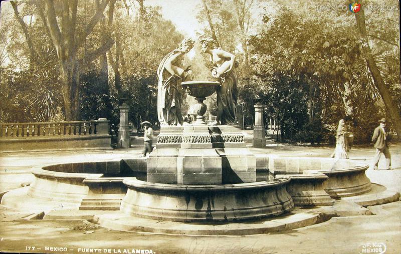 Fuente en la Alameda
