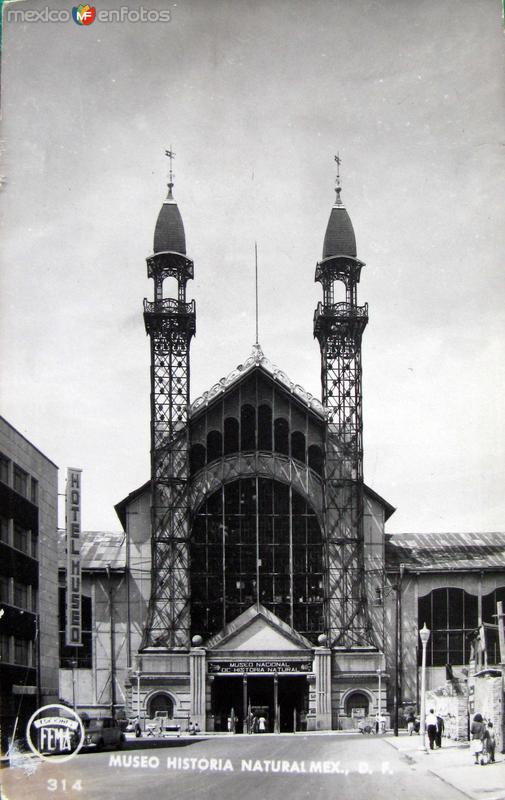 Museo Historia Natural Hacia 1945