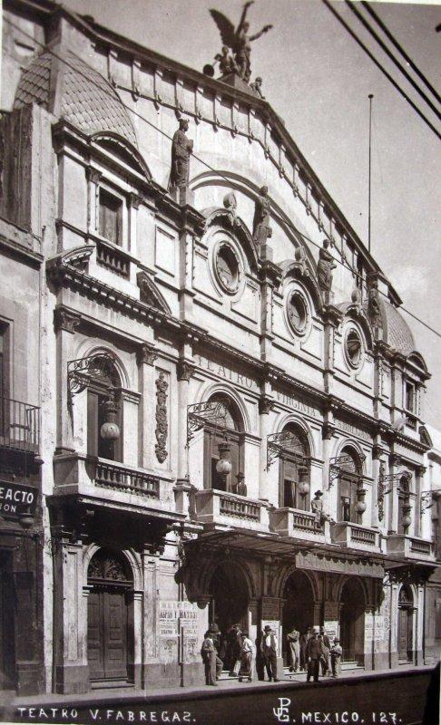 Teatro V fabregas Hacia 1930