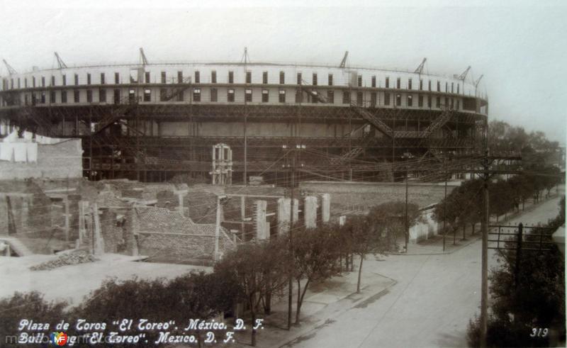Plaza de Toros El Toreo Hacia 1930