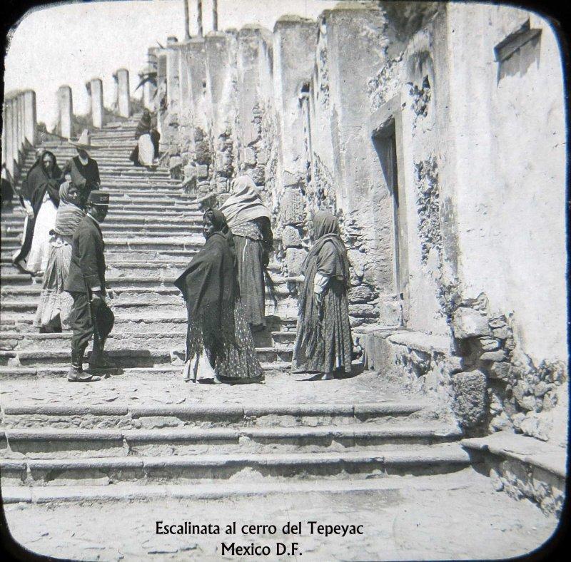Escalinata del Tepeyac Hacia 1900