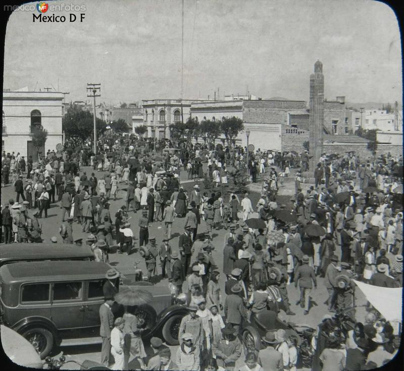 Escena Calejera Hacia 1920