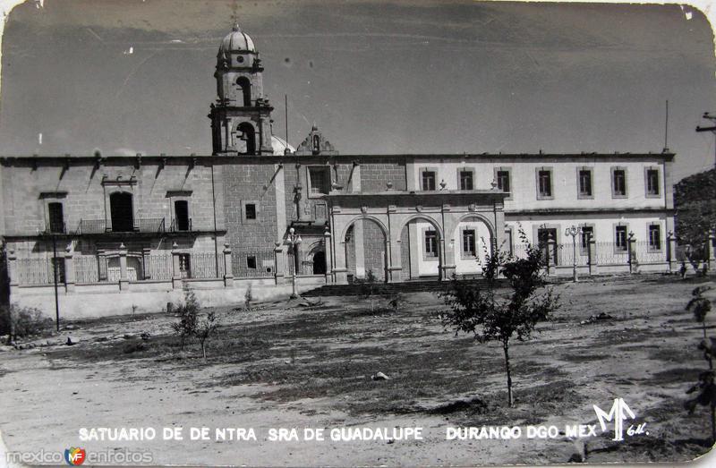 Santuario de Ntra. Senora de Guadalupe Hacia 1945