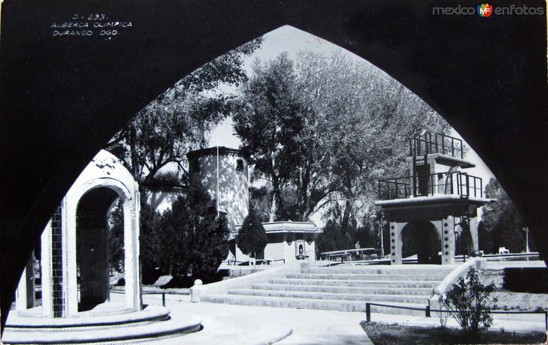 Alberca Olimpica Hacia 1945