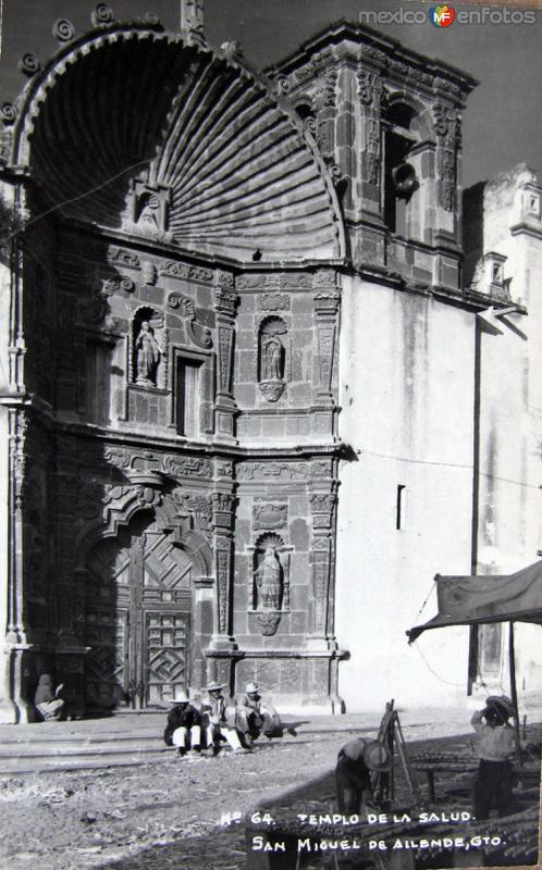 Templo de la Salud Hacia 1945