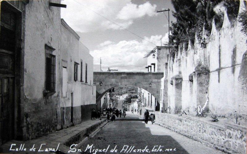 Calle de Canal Hacia 1945