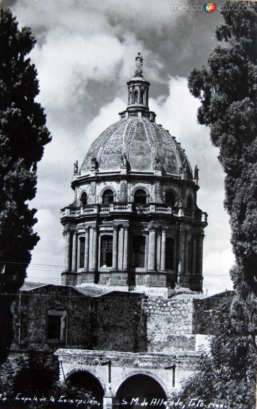 Cupula de la Concepcion Hacia 1945