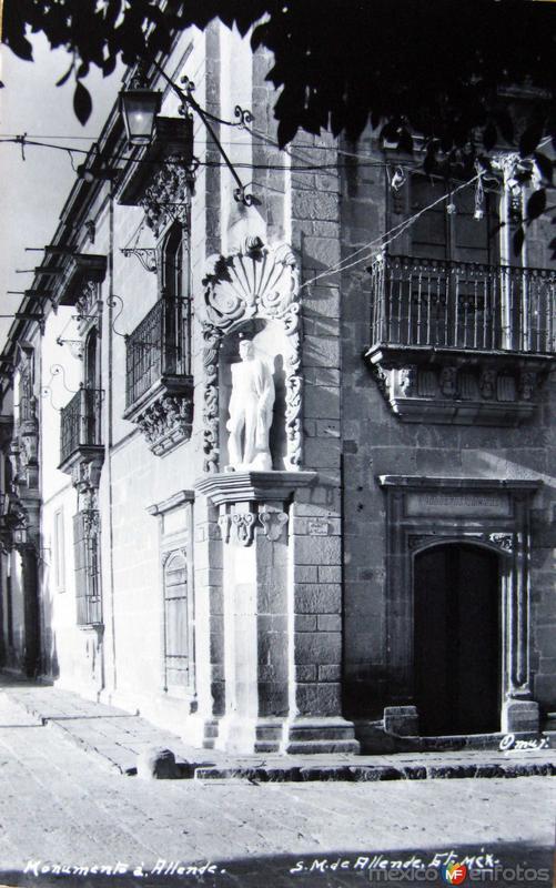 Mto. a Allende Hacia 1945