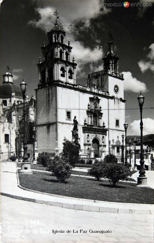 Iglesia de la Paz Hacia 1945