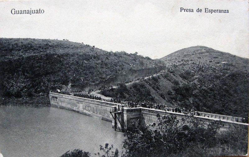 Presa de Esperanza Hacia 1909