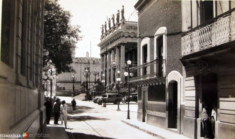 Teatro Juarez Hacia 1930