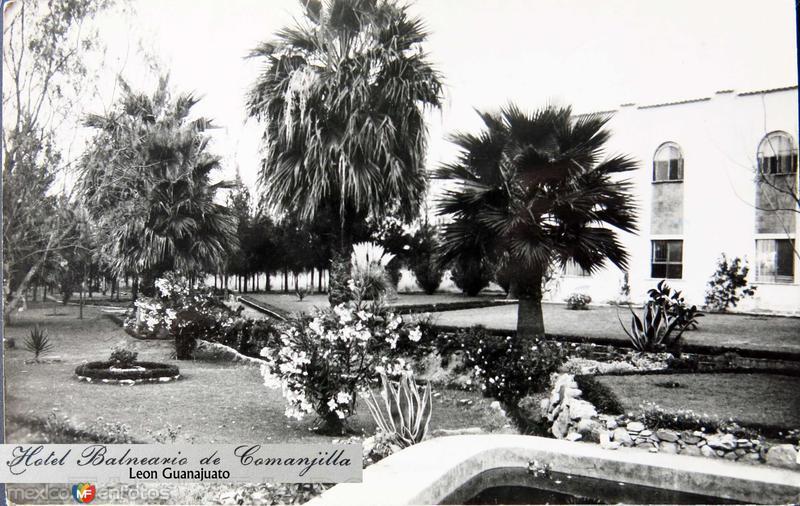 HOTEL BALNEARIO LA COMANJILLA Hacia 1945