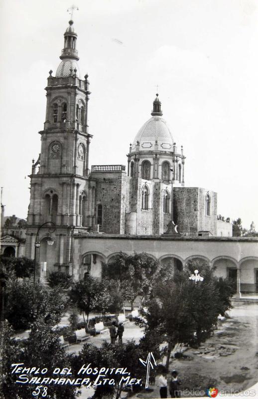 TEMPLO DEL HOSPITAL Hacia 1945