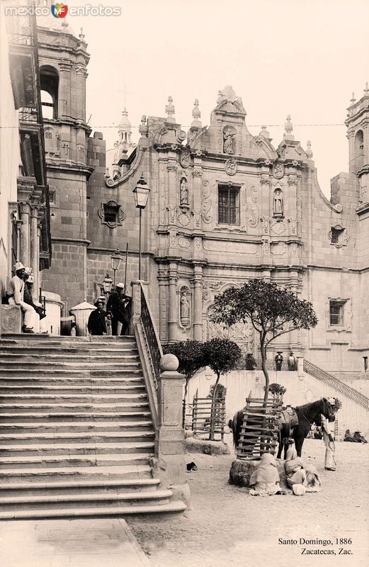 Zacatecas, Santo Domingo, 1886