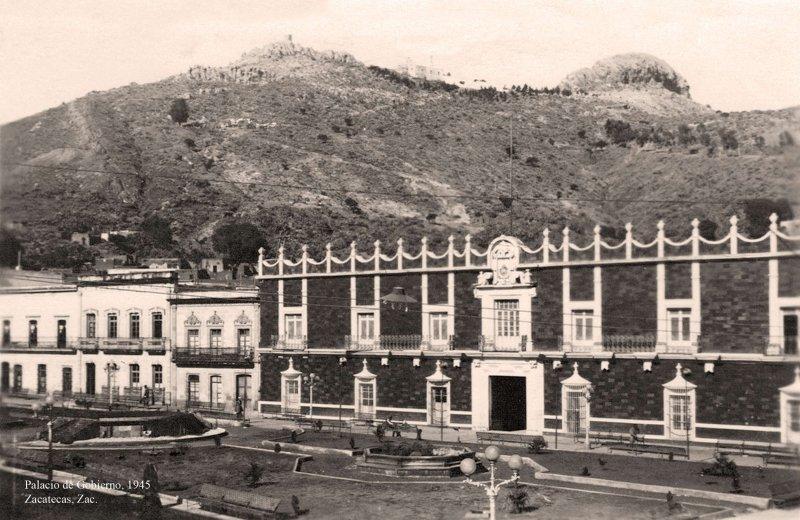 Zacatecas, Palacio de Gobierno