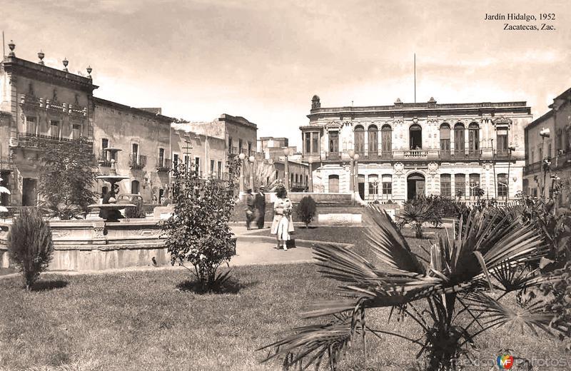 Zacatecas, Jardín Hidalgo