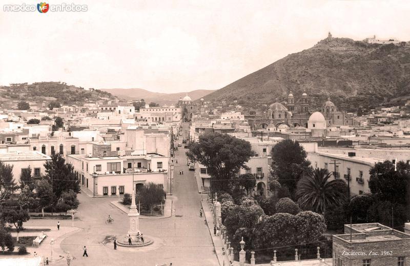 Zacatecas, vista típica