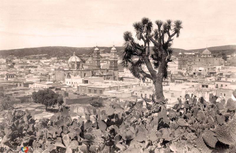 Zacatecas, vista panorámica
