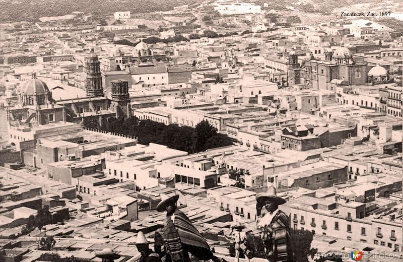 Zacatecas, vista desde el Cerro de la Bufa
