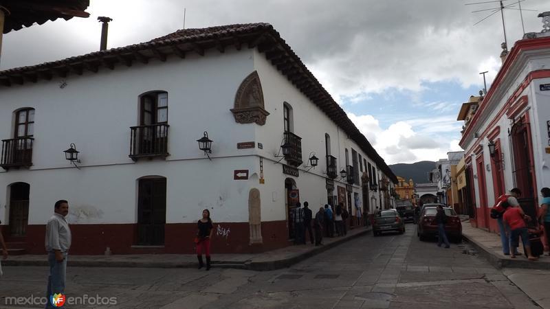 Casa de Diego de Mazariegos y Av. Insurgentes. Julio/2014