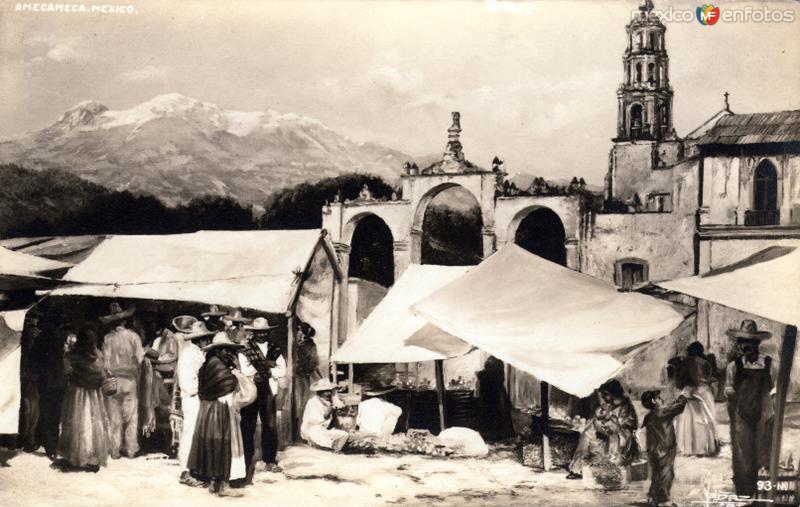 Vista del Iztaccíhuatl