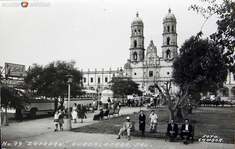 EL TEMPLO Hacia 1949