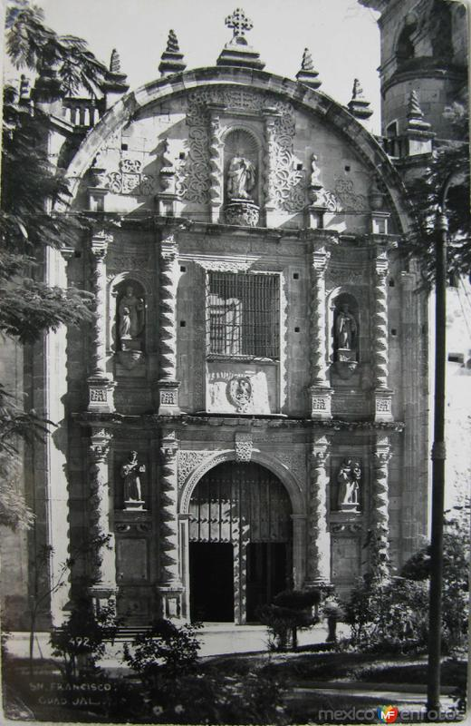 IGLESIA DE SAN FRANSICO Hacia 1945