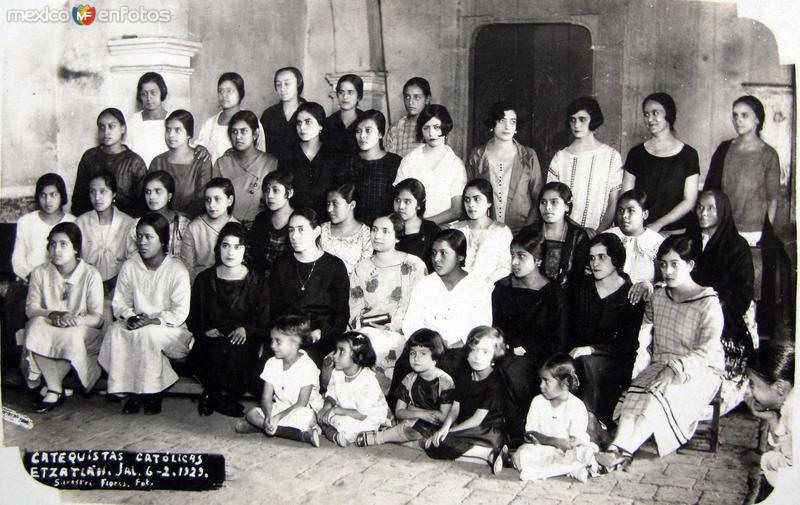 CATOLICAS CATEQUISTAS EN 1929