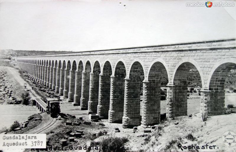 ACUEDUCTO DE LOS COLOMOS Hacia 1900