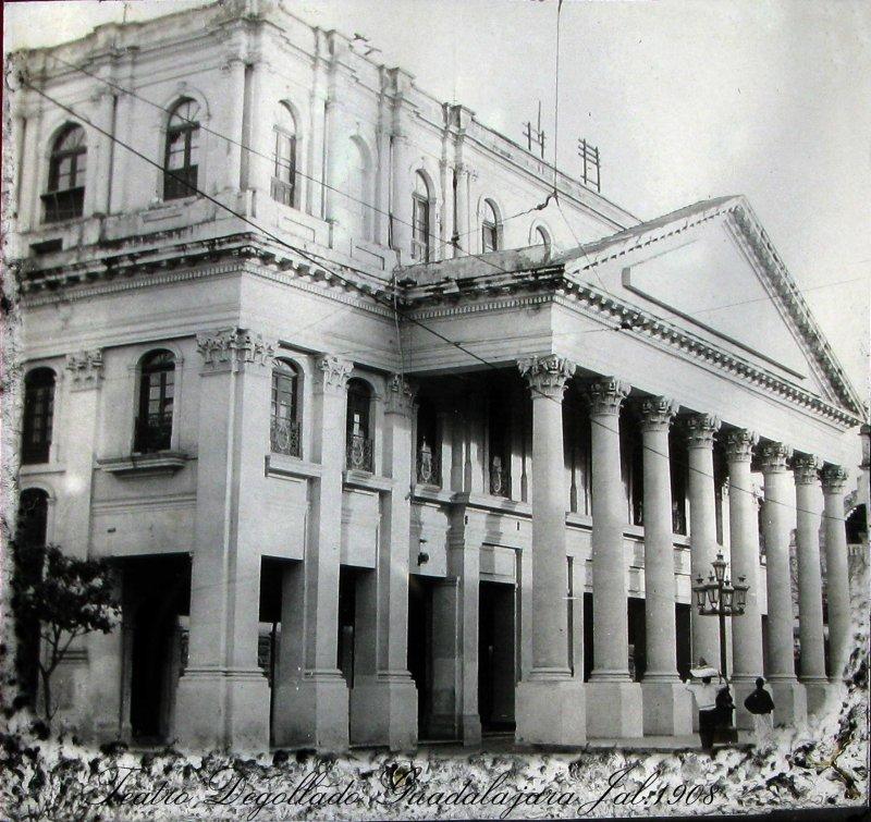 TEATRO DEGOLLADO Hacia 1909