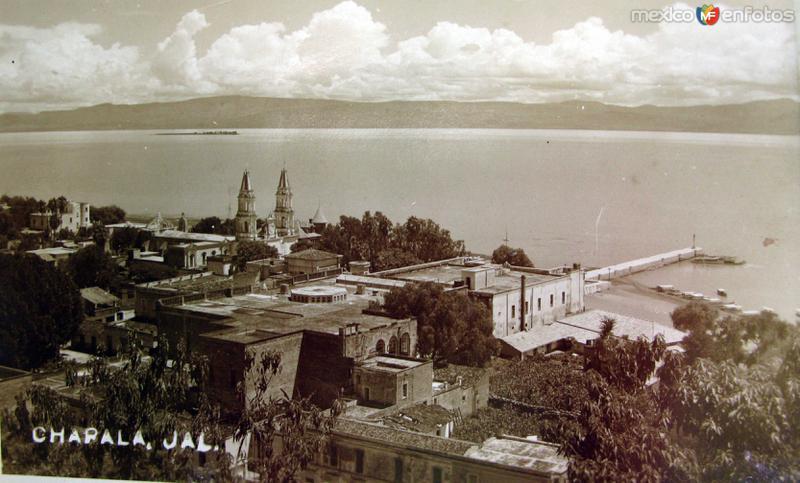PANORAMA Y LAGO Hacia 1945