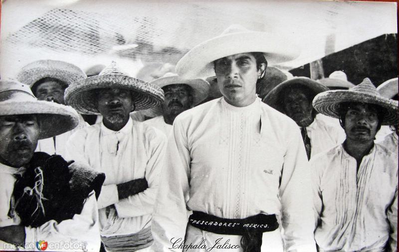 PESCADORES Hacia 1926