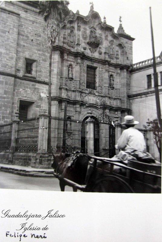 IGLESIA SAN FELIPE NERI Hacia 1945