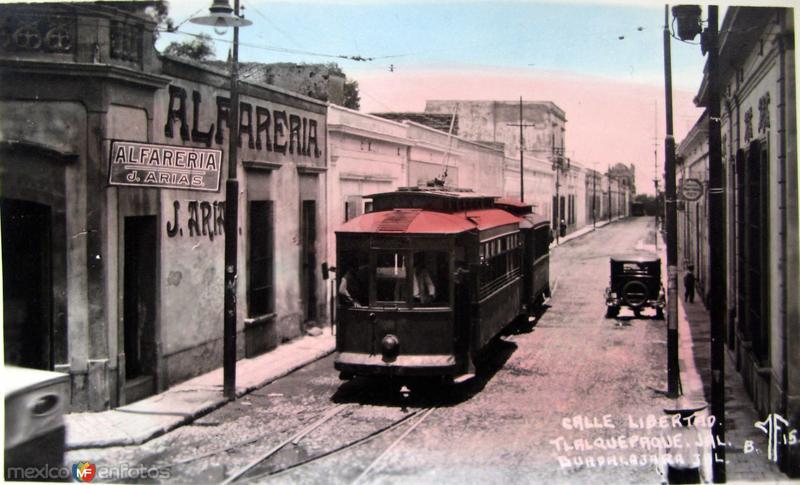 CALLE LIBERTAD Hacia 1939
