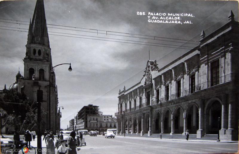 AVENIDA ALCALDE Hacia 1945