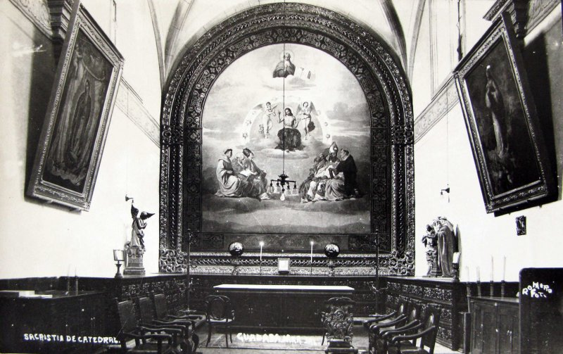SACRISTIA DE CATEDRAL Hacia 1945