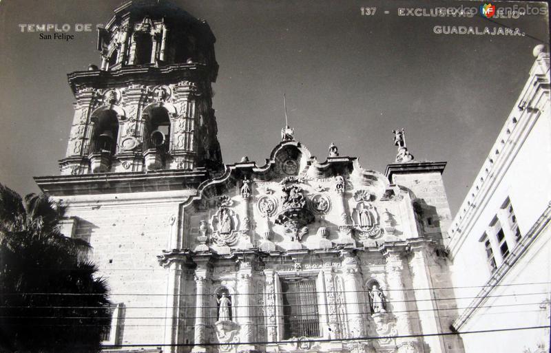 TEMPLO DE SAN FELIPE Hacia 1945