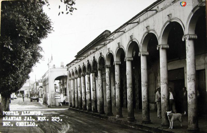 PORTAL ALLENDE Hacia 1945