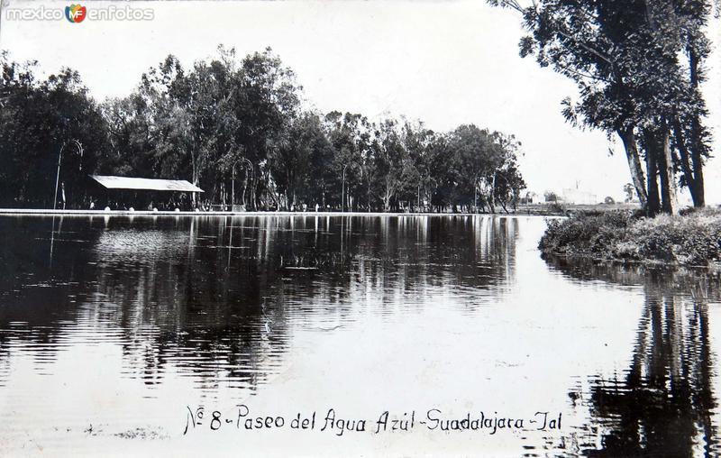 PASEO AGUA AZUL Hacia 1925