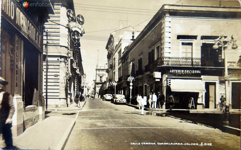 CALLE DE RAMON CORONA Hacia 1945