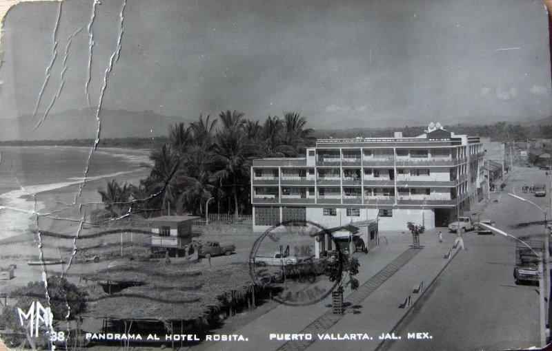 PANORAMA HOTEL ROSITA Hacia 1945