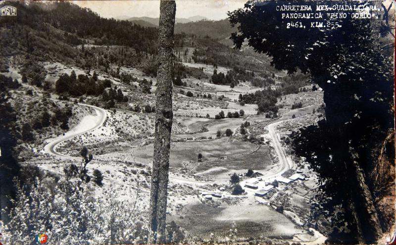 CARRETERA MEXICO-GUAD. Hacia 1940