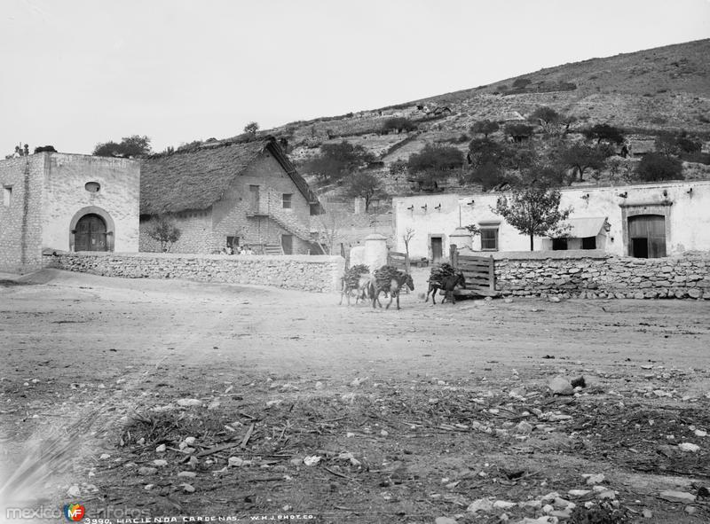 Hacienda Cárdenas (por William Henry Jackson, c. 1888)