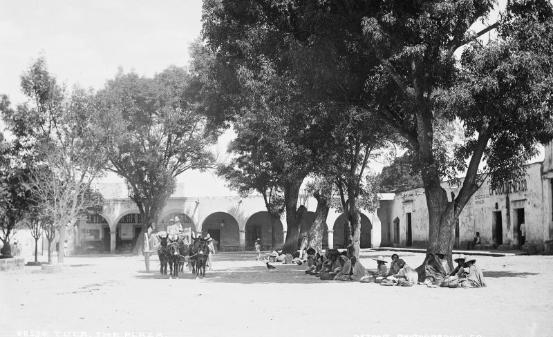 Plaza de Tula (por William Henry Jackson, c. 1888)