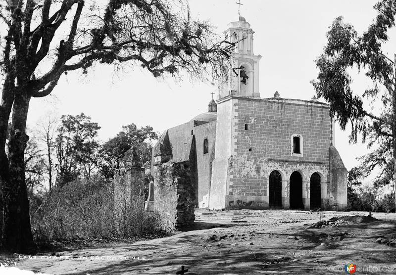 Iglesia del Sacromonte (por William Henry Jackson, c. 1887)
